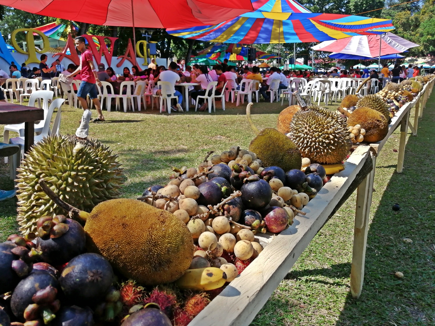 """Fruits-Eat-All-You-Can"" in Kidapawan"