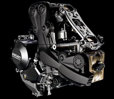 Ducati Streetfighter 848 Engine