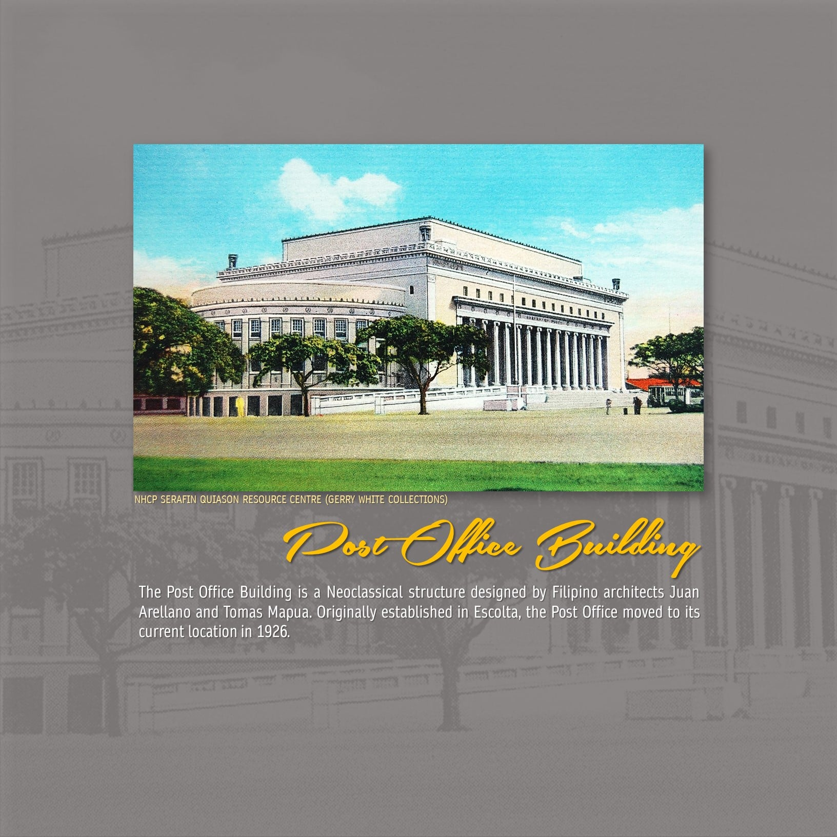 Post Office Building Manila Philippines