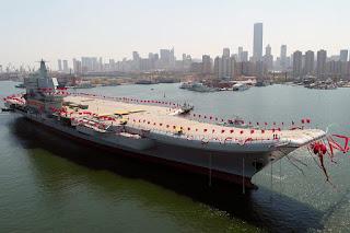 Kapal Induk Buatan Dalam Negeri Tiongkok