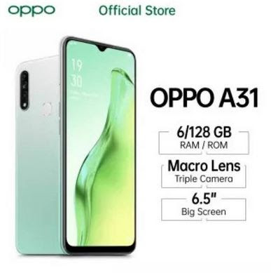 Oppo A31 6/128 Every Occasion 12MP Triple Rear Camera 16.5cm (6.5'') Waterdrop Screen Battery 4230 mAh