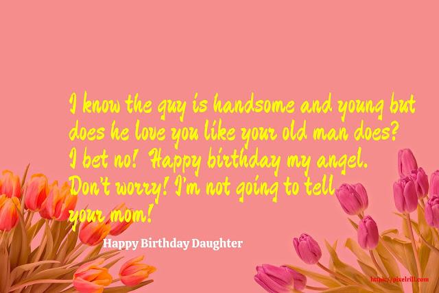 Happy Birthday to My Daughter