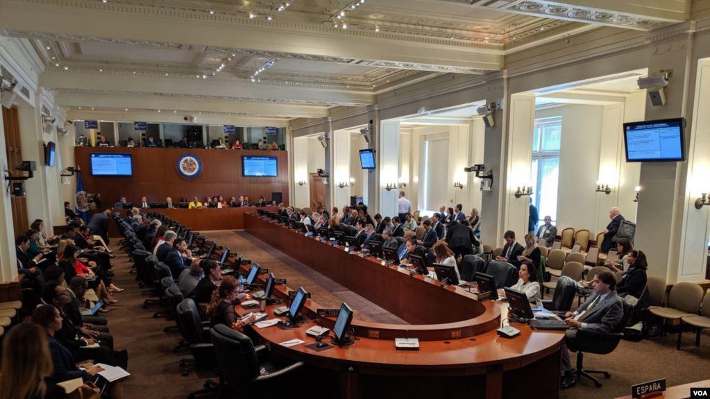 """La OEA vota sobre una resolución que pide el """"acceso inmediato y sin obstáculos"""" de la CIDH a Venezuela / VOA"""