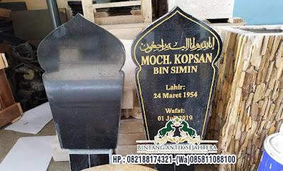Model Nisan Patok Marmer Modern, Nisan Patok Harga Murah