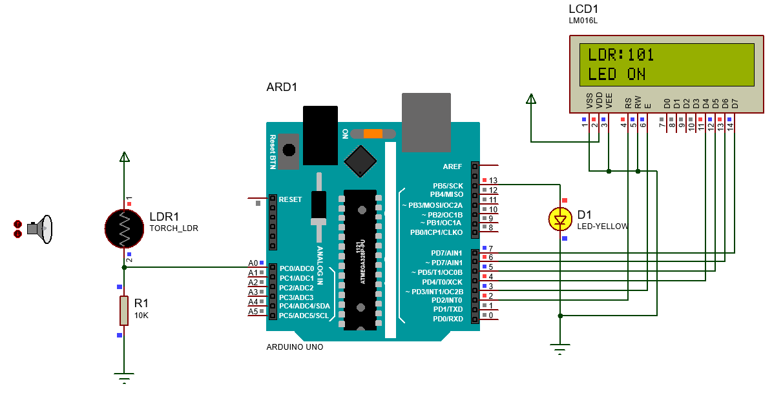 LDR-Arduno-Interface-TechnoElectronics44
