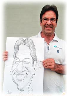 caricaturista profissional para evento empresarial em recife