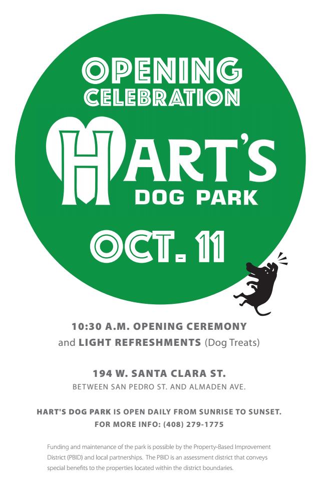Dog Park San Jose Downtown