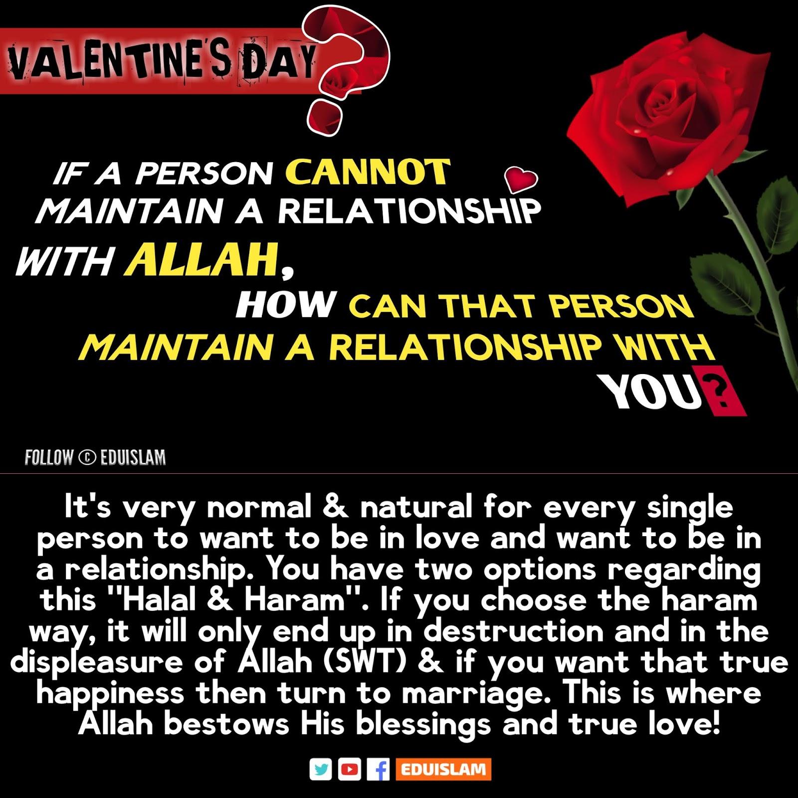 Valentine's Day Islam quote, Islamic quotes about Valentine's Day, Valentine's day haram Islam quotes, urdu, What Islam says about Valentine's day, Quran About Valentine's Day, Haram or Halal, Scholars, EduIslam