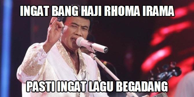 Meme Lucu Bang Haji Rhoma Irama