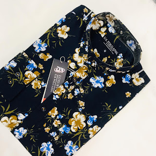 Fashionable Printed Full Sleeve Casual Shirt Fleetworkers