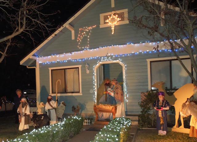 Morning Star Youth Ranch Living Nativity Scene