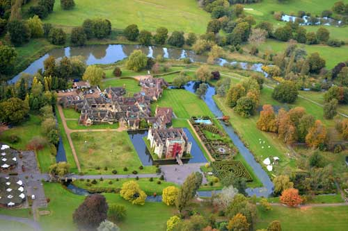 Hever Castle and Gardens, Kent, UK.