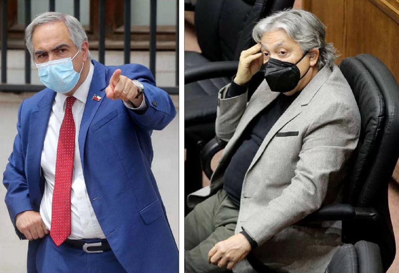 Tenso encontrón entre Chahuán y Navarro por presidencia de comisión de DD.HH.