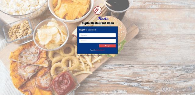 Aplikasi Pemesanan Restoran Berbasis Web (Codeigniter)