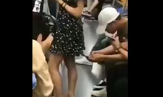 Ο ήρωας του μετρό: Πώς προστάτευσε κοπέλα που βιντεοσκοπούνταν εν αγνοία της