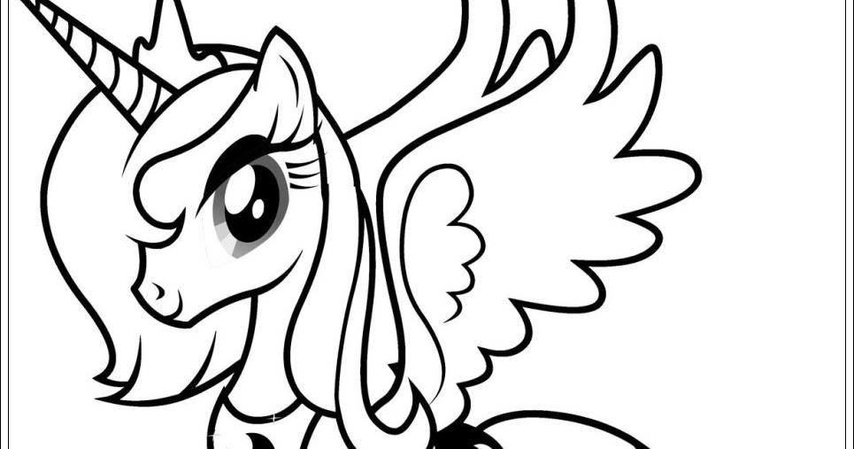 kinder malvorlagen my little pony
