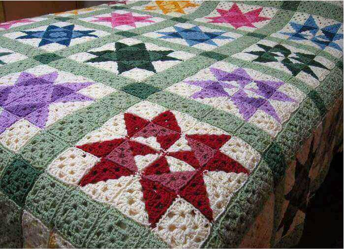 Crochet Quilt Blanket Easy Afghan Pattern Craft Workshoponline Best Easy Afghan Patterns