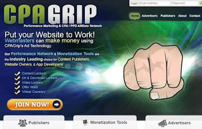 موقع CPAGRIP