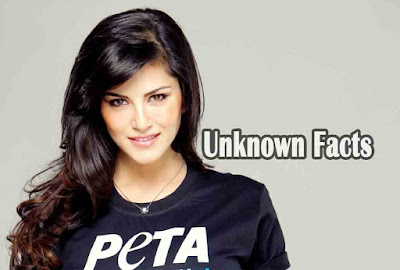 unknown facts about sunny leone