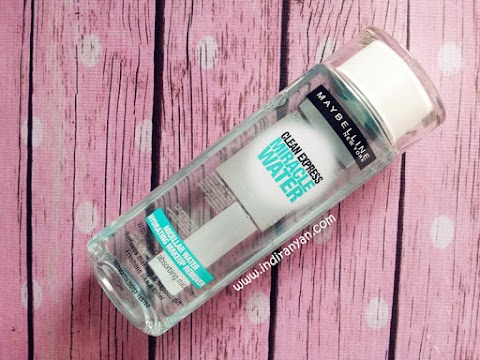 [REVIEW] Maybelline : Clean Express Miracle Water