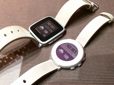 Straight Plus watch face - Pebble Time Steel / Pebble Time Round