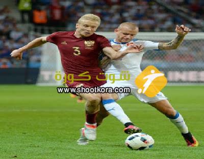 المنتخب الروسى امام مواجهة قوية للغايه امام ويلز فى الجولة الثالثه من مباريات اليورو