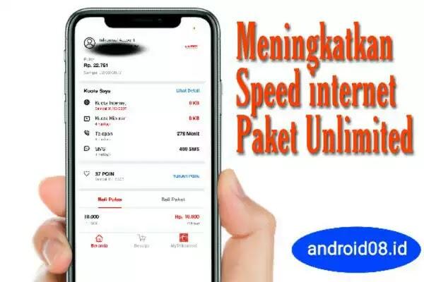 Meningkatkan Speed Internet Paket Combo Unlimited Telkomsel
