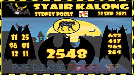Prediksi Togel Kalong Sidney Rabu 22 September 2021