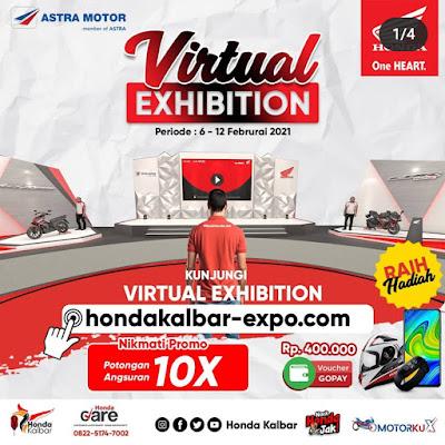 Honda Astra Motor Kalimantan Barat Kembali Hadir Menyelenggarakan Virtual Exhibiton