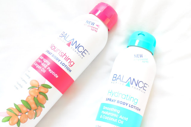 Balance Active Formula Spray Body Lotions