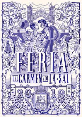 San Fernando - Feria del Carmen y de la Sal 2018 - Andi Rivas