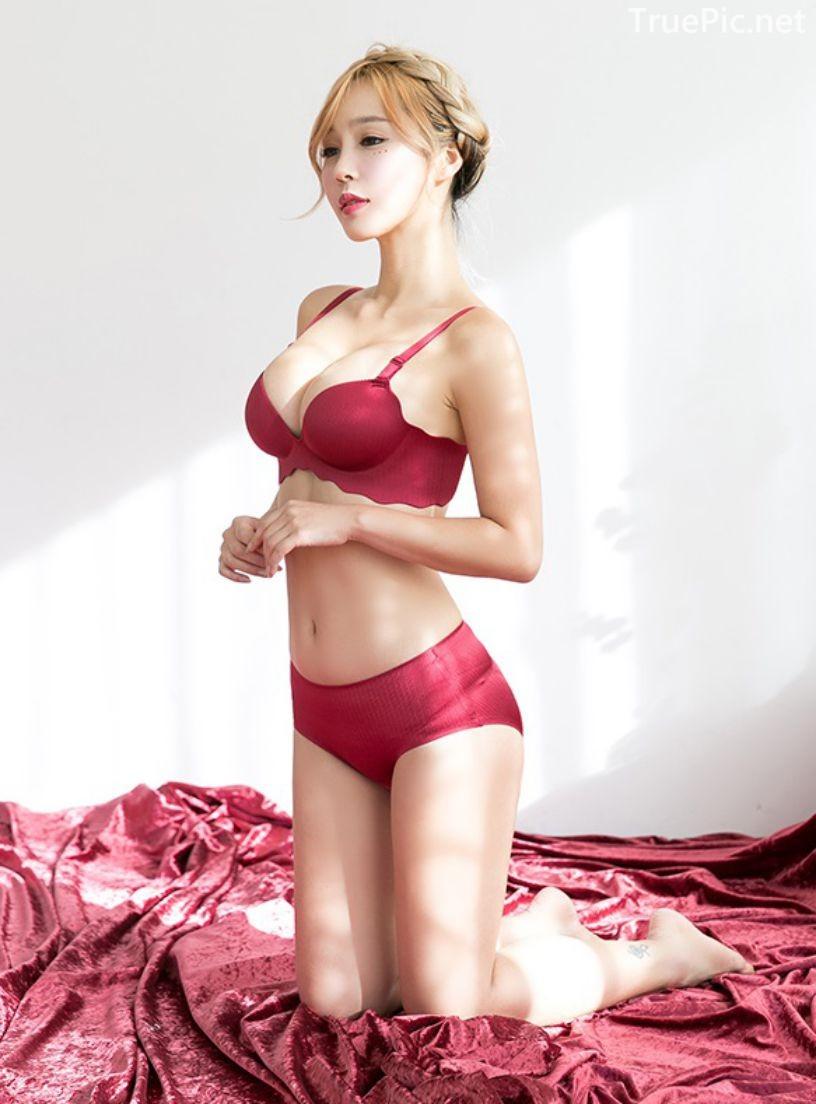 Korean fashion model - Lee Ji Na - The Push Up Lingerie - TruePic.net- Picture 8