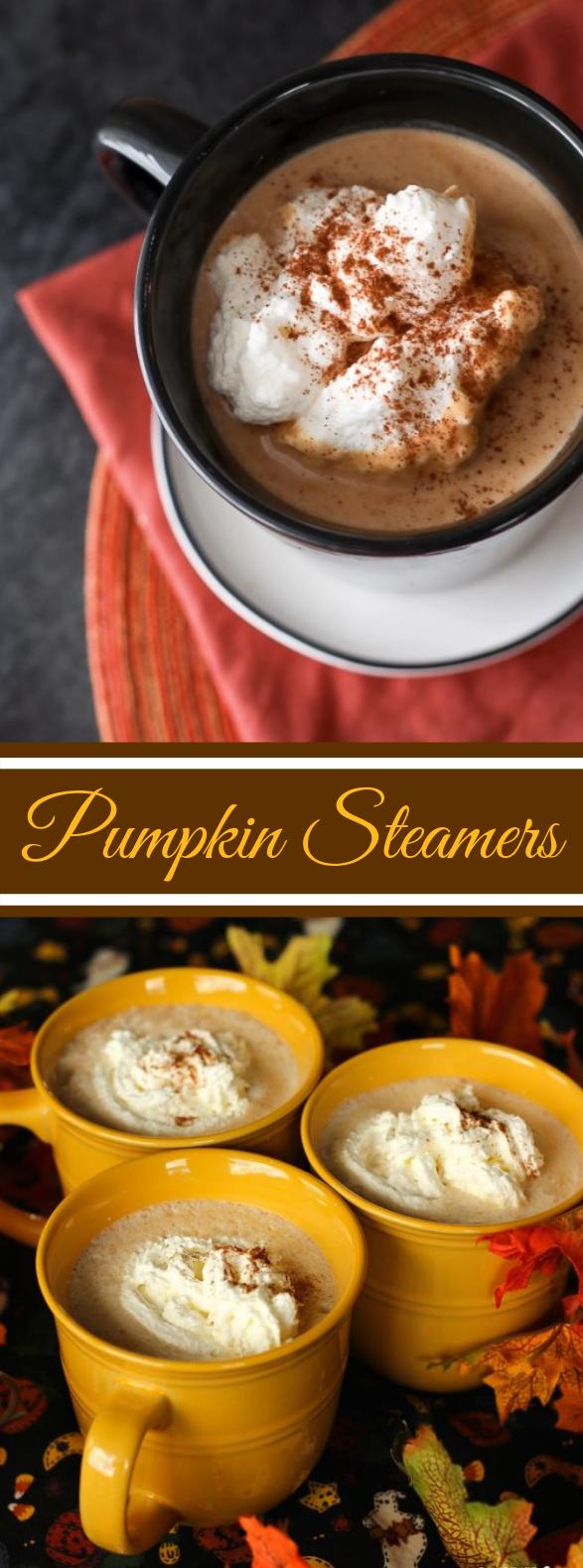 Pumpkin Spice Steamer #drinks #harvest