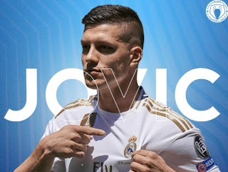Real Madrid Lepas Luka Jovic