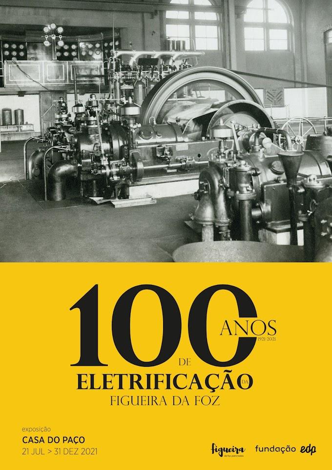 """""""100 anos de eletrificação da Figueira da Foz"""" em exposição na Casa do Paço"""