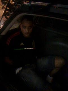 Guarda Civil de Santo se deslocando a seu local de policiamento fixo detém meliante por roubo