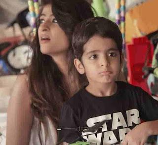 Virajveer Khurrana With His Mother