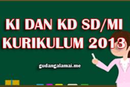 KI dan KD Matematika Kelas 1 SD/MI Semester1 dan 2 Terbaru