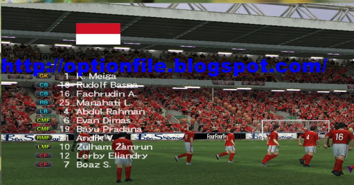 Update Option File Pes 6 November 2016 Piala AFF Suzuki ...