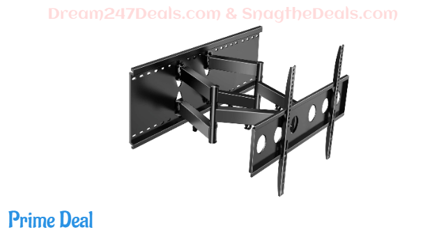 Full Motion TV Wall Mount for Most 37-80 Inch 54.03%OFF
