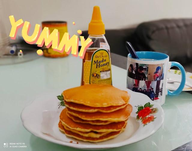 Sarapan Pagi Kesukaan Anak-Anak | Pancake Sedap, Mudah Dan Gebu