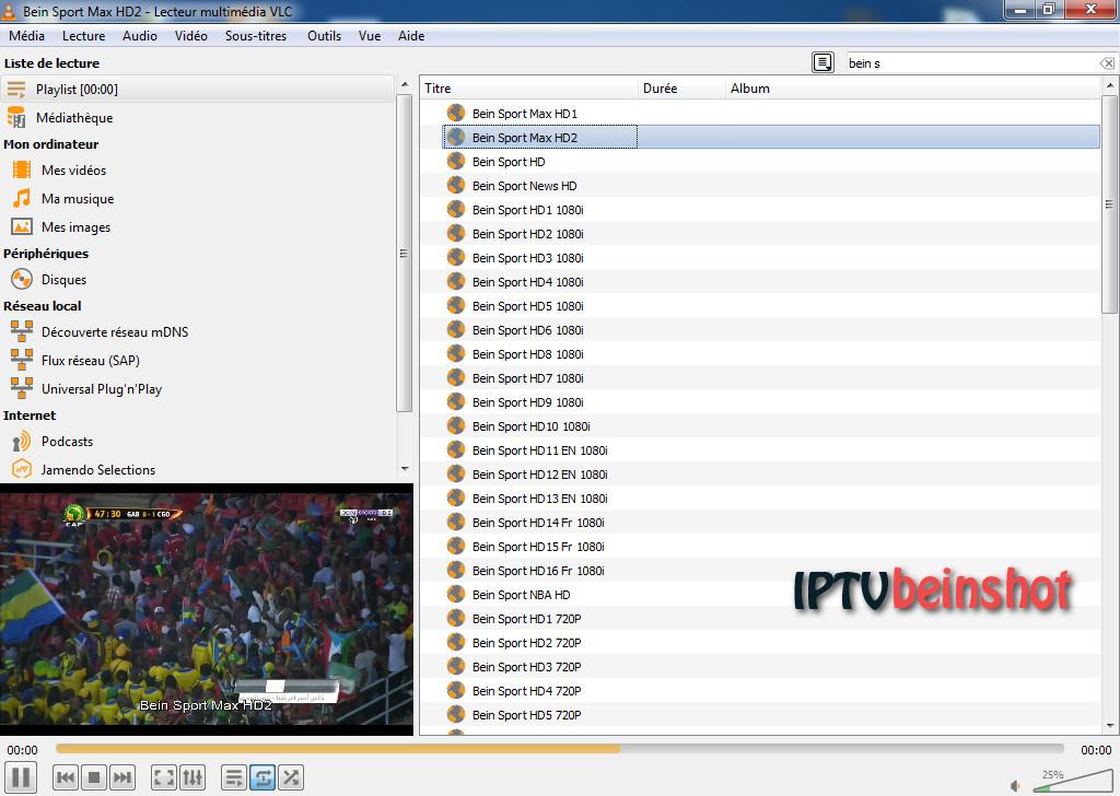 ملف قنوات IPTV لجميع الباقات Bein , SKY , Nile , OSN ليوم 27/06/2019