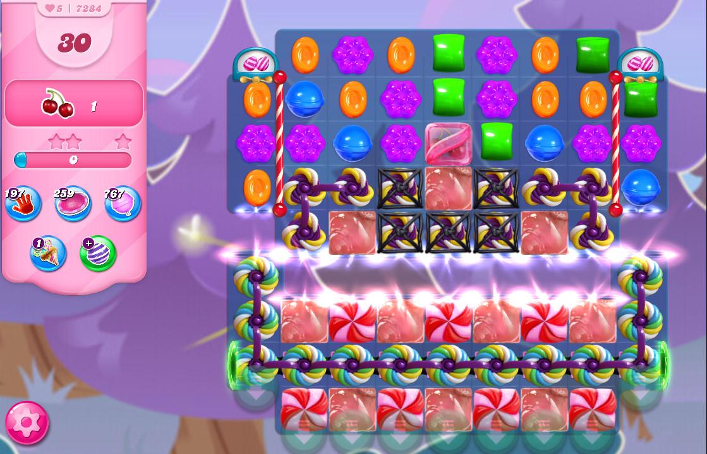 Candy Crush Saga level 7284