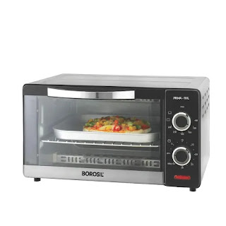 Borosil Prima 10-Litre OTG 1000 Watts with 3 Cooking Modes