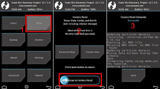 Cara Flash Andrmax A ( A16C3H ) atasi bootloop