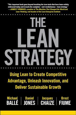 """Buchcover von """"The Lean Strategy"""""""