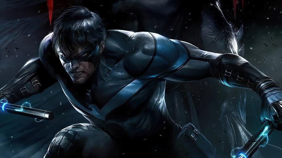 Nightwing, DC, Superhero, 4K, #6.1171