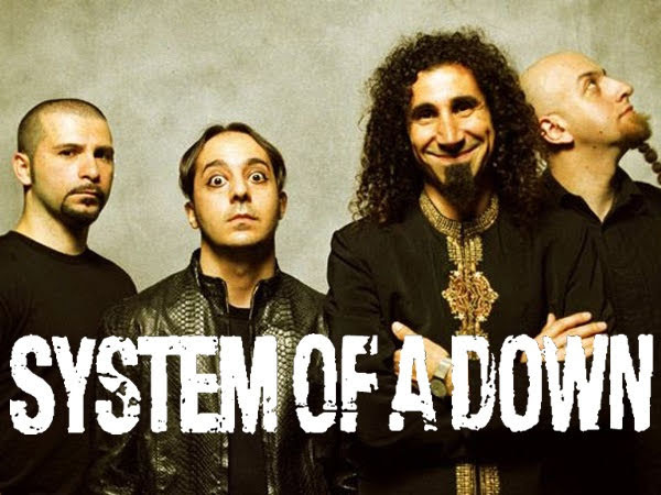 System Of a Down irá de gira por Europa