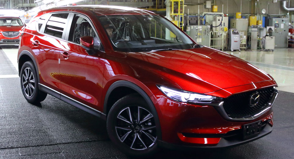 2017 Mazda Cx 5 Begins Production In Japan