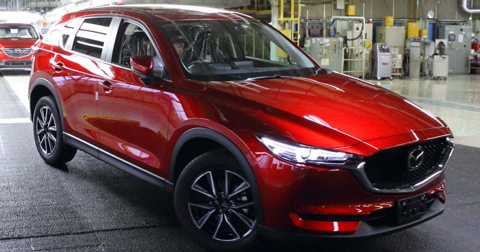 2017 Mazda Cx 5 Begins Production In Japan